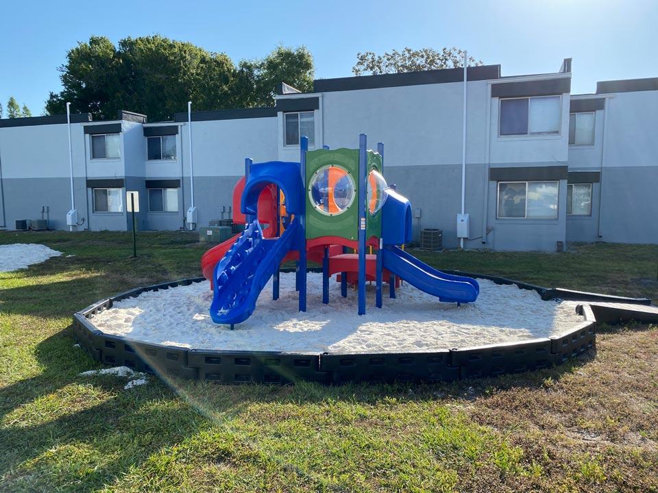 Photo Of The Fun Community Playground.