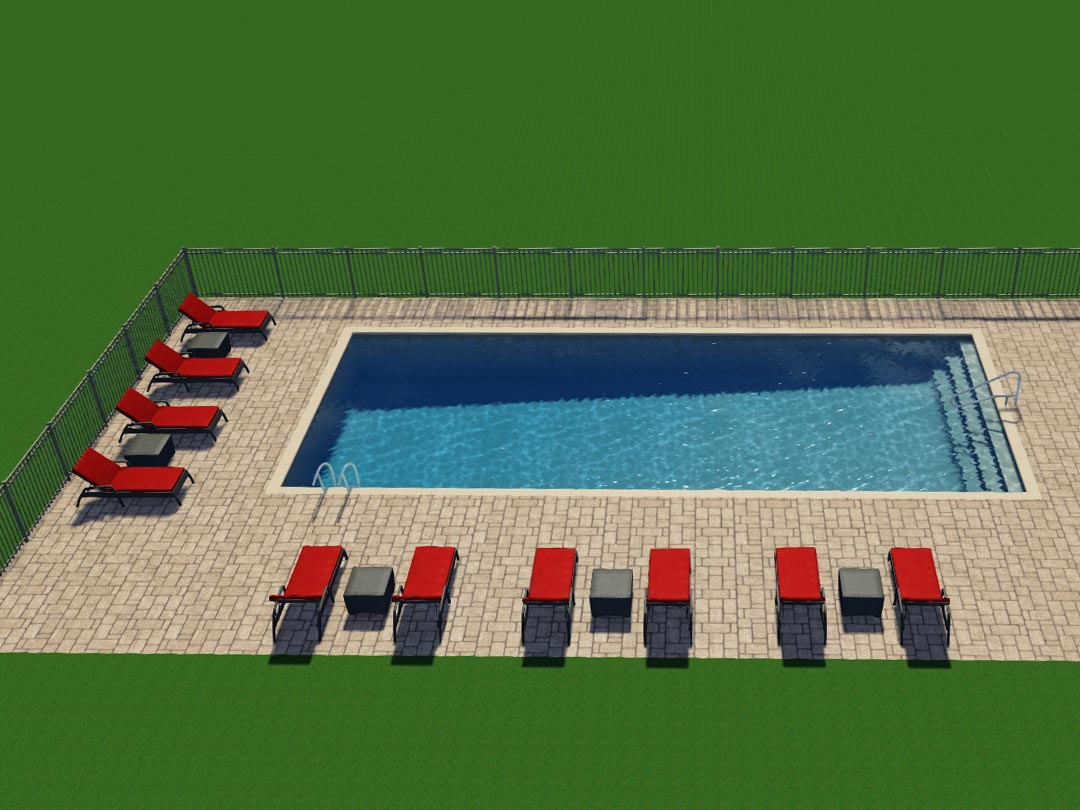 Photo Of The Refreshing Community Pool (Coming Sooon).